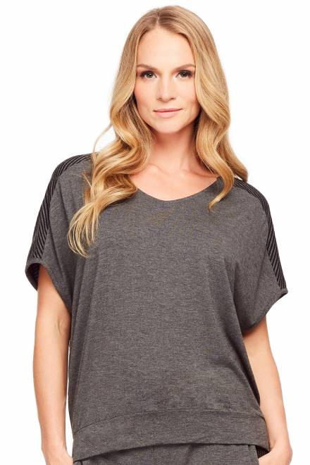 Fleur't Casual Perfection Cocoon Top