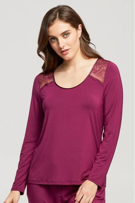 Fleur't Mix & Match Long Sleeve With Back Keyhole