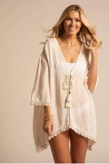 Koy Resort Paradise  OPEN FRONT CARDIGAN
