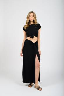 Koy Resort Laguna  MAXI SKIRT W/KNOT
