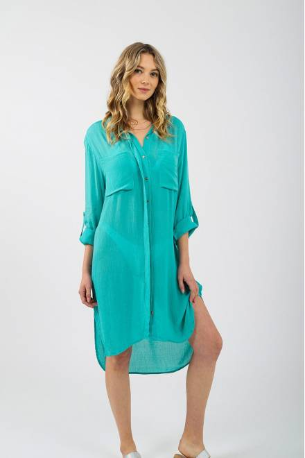 Koy Resort Miami  OVERSIZED SHIRT DRESS