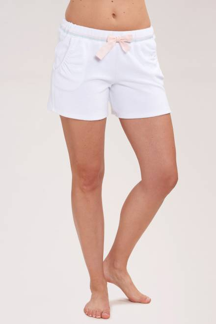 Rosch Be Happy Terrycloth shorts with pastel decorative stitches