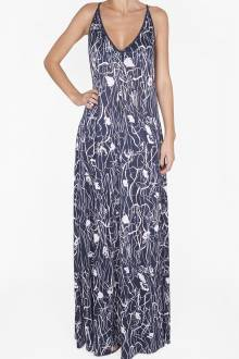 Shan Blue Valentine Long dress