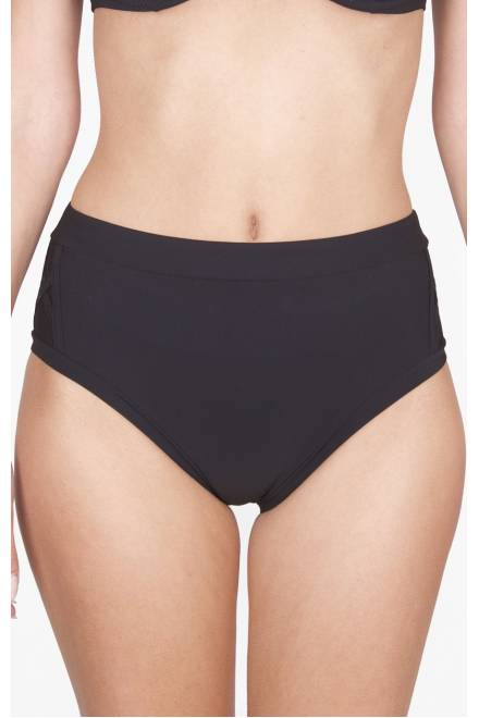 Shan Picasso Full coverage high waist bikini bottom