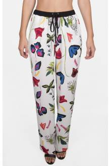 Shan Pop Art Silk Pants