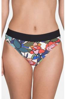 Shan Mosaic full coverage bikini bottom