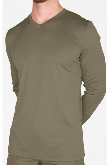 Shan Actif Long sleeve V-neck shirt