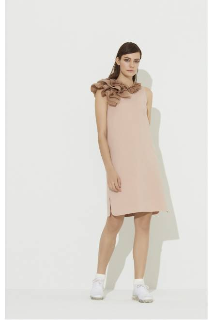 Shan Msp  DRESS WITH FRILL